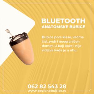 Bluetooth anatomske bubice